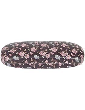 French Rose Vintage Brown Floral Flower Glasses Sunglasses Hard Case Ladies Gift