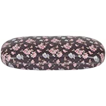 French Rose Vintage Brown Floral Flower Glasses Sunglasses Hard Case Ladies Gift