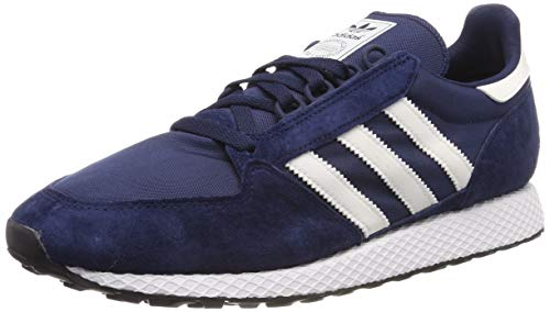 adidas Herren Forest Grove Fitnessschuhe, Blau (Collegiate Navy/Cloud White/Core Black), 41 1/3 EU (7.5 UK) - Klassiker Schuhe Adidas