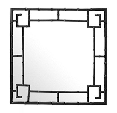 Casa-Padrino-Designer-Luxury-Wall-Mirror-Black-100-x-H-100-cm-Luxury-Quality