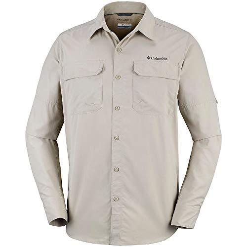 Columbia Camicia Maniche Lunghe da Uomo Silver Ridge II Long Sleeve Shirt Nylon