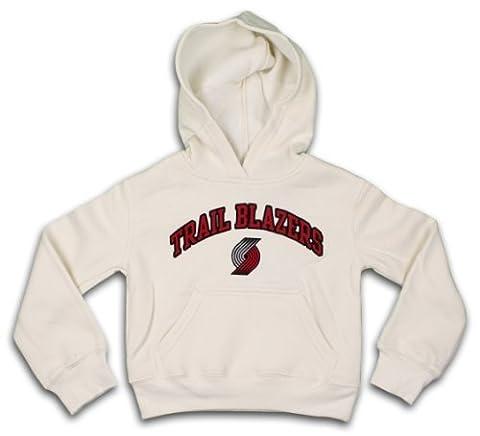 Portland Trail Blazers Nba Girls Pullover Hooded Sweatshirt Medium / 7 - 8 - Cream