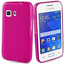 Muvit Minigel - Funda para Samsung Galaxy Young 2, rosa