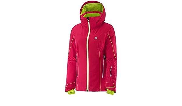 Women 100% High Quality Salomon Speed Jacket Lotus Pink