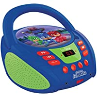 Lexibook Pyjamasques Radio lecteur CD, Entrée line-in, Pile ou Secteur, Bleu/Noir, RCD108PJM_10