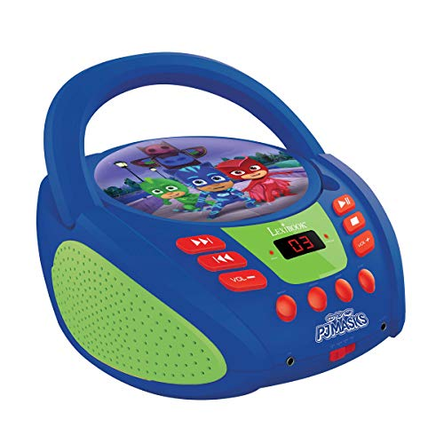 Lexibook RCD108PJM E-One Pjmasks, Pyjamahelden Radio CD Player