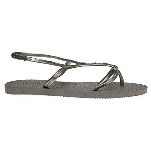 Havaianas Allure Maxi Damen Sandalen Grau Grey