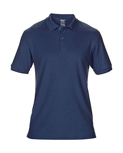 Komfort Sport-Poloshirt Herren leicht taillierte Passform Navy