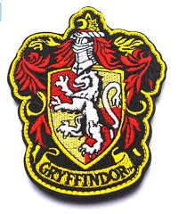 XpoGlobal Harry Porter Gryffindor Jacket Iron on sew Embroidered Patch