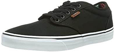 Vans Atwood Deluxe, Men's Skateboarding Shoes, Black (10Oz Canvas), 5.5 UK