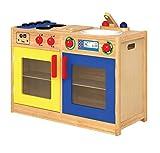 Unbekannt 6 in 1 Küche / Vorderseite mit Spüle+Spülmaschine, Herd+Backofen, Rückseite: Waschmaschine und Schrank / Material: Holz / Maße: 34x79x54 cm