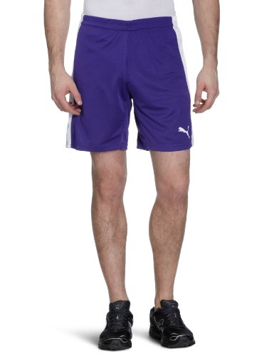 PUMA Herren Hose Powercat 5.12 Shorts with Inner Slip Team Violet-white