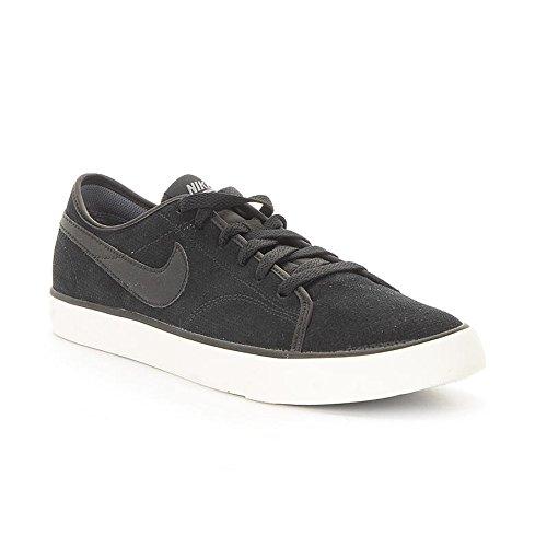 Nike Primo Court Leather, Chaussures de Tennis Homme, Noir, 44,5 EU Noir (Black / Black-Cool Grey-Sail)
