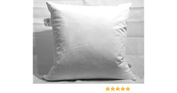 Free P/&P With Extra Filled /& 100/% Cotton Casing Cushions 25cm X 25cm Luxury 10 X 10 Duck Feather Cushion Pad//Inner