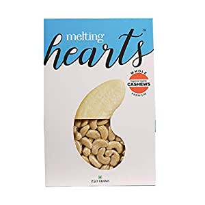 Melting Hearts Cashews Whole Premium 250 g