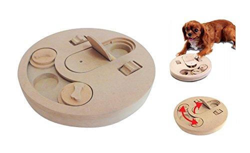 Tirón inteligente juguete CaniAmici Juego de Instrucción - el juguete de inteligencia de madera para perros