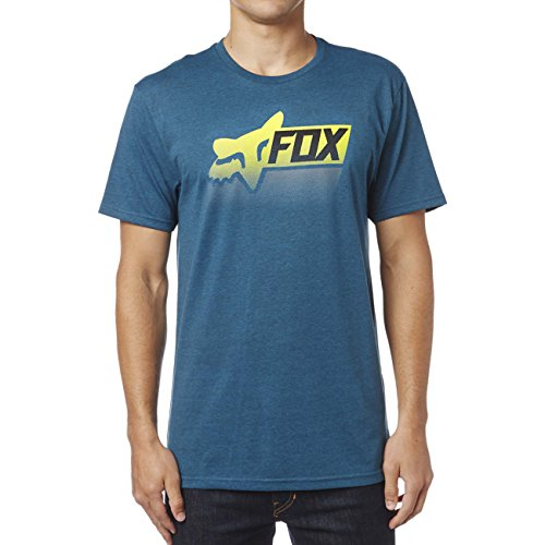 Fox T-Shirt Processed Schwarz Blau