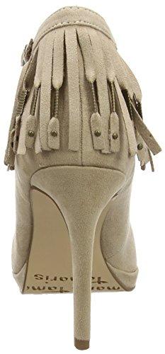 Tamaris - 24430, Scarpe col tacco con cinturino a T Donna Beige (Beige (SISAL 414))
