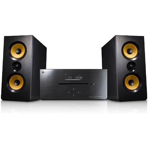 LG CM2630B - Microcadena de 160W (estéreo), negro