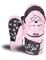 Level Handschuh Animal Sound - Botas para raquetas de nieve, color rosa, talla I