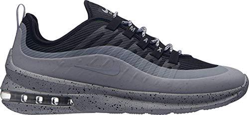 Nike Herren Sneaker Air Max Axis Premium Fitnessschuhe, Mehrfarbig (Black/Wolf Grey/Dark Grey 003), 44.5 EU