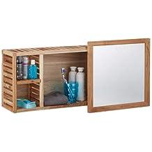 Suchergebnis auf Amazon.de für: spiegelschrank holz