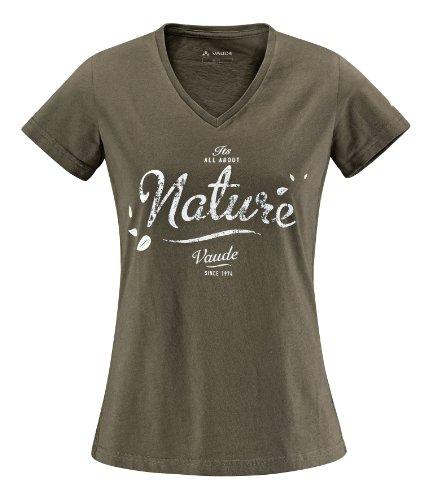 VAUDE Lagundo Shirt pour femmes Vert - Camouflage