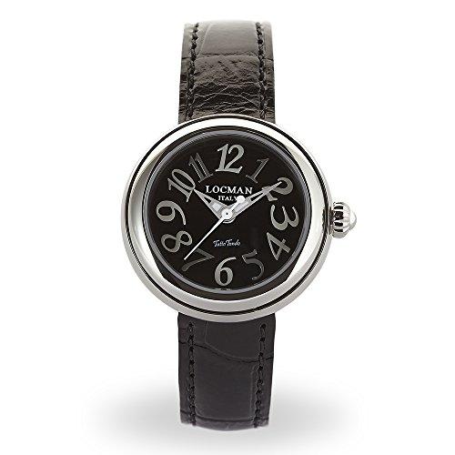 Locman Italy Mujer Reloj Tutto Tondo Negro Ref. 361