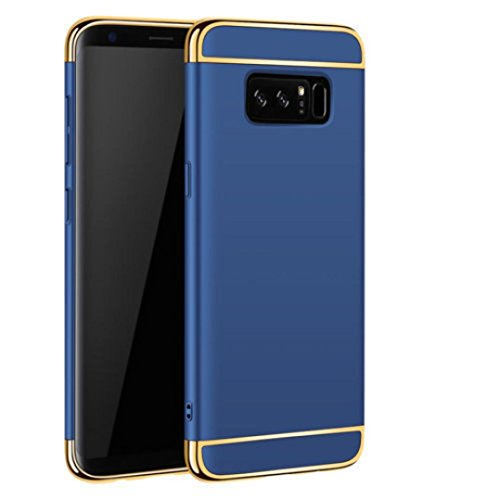 Für Samsung Note 8stylische Fall, Y56Luxus superdünn Armor Hard Back Schutzhülle für Samsung Galaxy Note 8, blau