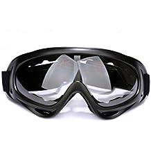Baiter al aire libre resistente al viento ciclismo deportes gafas Unisex Moto nieve gafas de esquí gafas de protección gafas de seguridad para hombres y mujeres, transparente