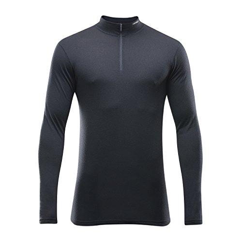 Devold 150 Ultralight Breeze Half Zip Neck Longsleeve Shirt Men - Merinowäsche Mens Long Sleeve Half Zip