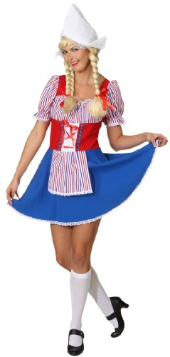 Holländerin Kostüm - Holländerin Kostüm für Frauen - L