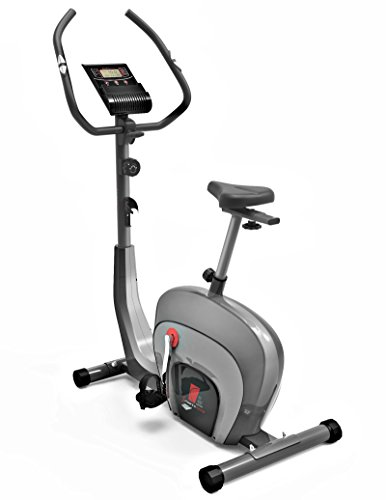 ergometer senioren Sportstech ES400 Ergometer Heimtrainer - Smartphone APP Steuerung - 10kg Schwungmasse - Bluetooth - Pulsmesser - Hometrainer mit Magnetbremssystem - Fahrrad-Trainer - Fitness-Bike - Tablethalterung
