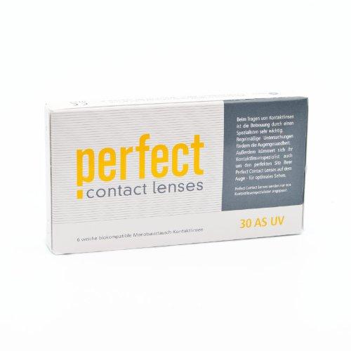 Perfect 30 AS UV Monatslinsen weich, 6 Stück / BC 8.60 mm / DIA 14.20 mm / -4.25 Dioptrien