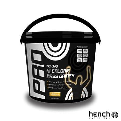 2.25kg Hench Nutrition Pro Hi-calorie Mass Gainer / Weight Gain Whey Protein Powder - Vanilla by Hench Nutrition