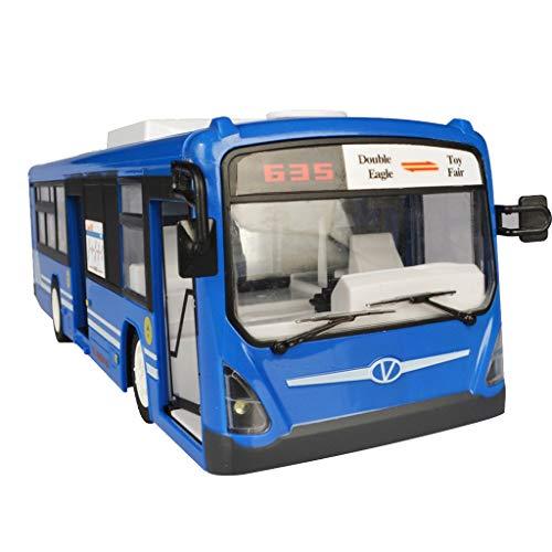 Fenteer RC Ferngesteuert Bus Spielzeug Fernbedienung Fahrzeug mit Batteriebetrieben als Display Sammeln und Geschenk
