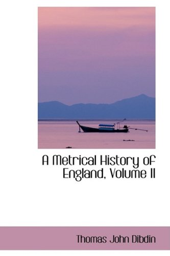 A Metrical History of England, Volume II: 2