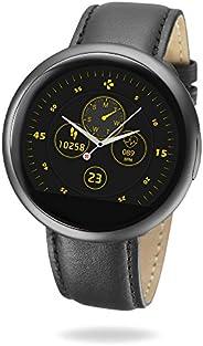 MyKronoz ZeRound2 HR Premium Smartwatch mit Herzfrequenzmonitor, eingebautem Mikrofon und Lautsprecher – Matts