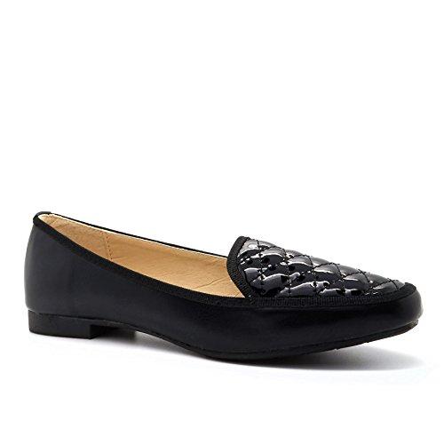 London Footwear , Sandales Compensées femme Noir