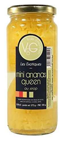 Mini ananas queen au sirop 358 ml