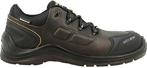 Safety Jogger 200256-43 Lava S3, talla 9, color negro y gris
