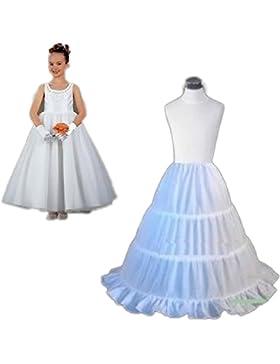 CoCogirls 3 Ringe Kinder Reifrock Petticoat Mädchen Unterröcke Unterrock Braut Krinoline für die Kinder Hoop Skirt