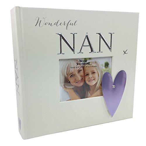Nan regalo-nonna Foto Album contiene 5015,2x 10,2cm foto