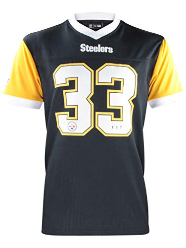 ur T-Shirt Supporters Collection Tee NFL Jersey Trikot Shirt American Football Streetwear Pittsburgh Steelers XL ()