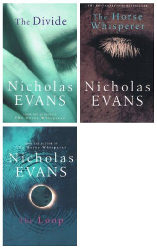 Nicholas Evans: 3 book pack set: The Loop, The Divide and The Horse Whisperer rrp 20.97