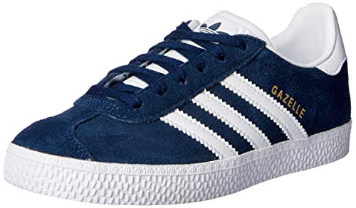 adidas Gazelle J, Baskets Basses Mixte Enfant, Bleu (Collegiate Navy Footwear White), 38 EU