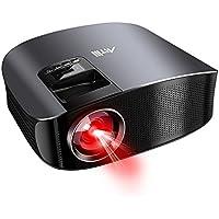 Vidéoprojecteur Full HD, Artlii Rétroprojecteur 3500 Lumens, Supporte Le 1080p, Compatible Clé USB, iPhone, PC, Laptop Regarder Football, NBA, Roland Garros