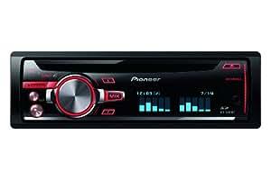 Pioneer DEH-X8600BT Autoradios 200 W Bluetooth, En Façade