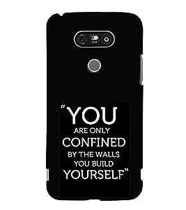HiFi Designer Phone Back Case Cover LG G5 :: LG G5 Dual H860N :: LG G5 Speed H858 H850 VS987 H820 LS992 H830 US992 ( Quotes on Attitude )