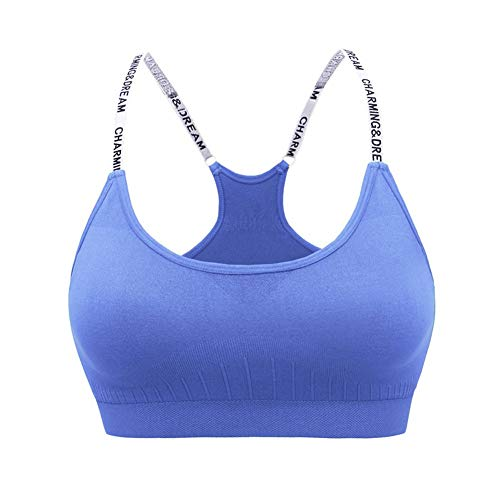 CHIYEEE Damen Komfort Stretch Sport BH Top Fuer Yoga Fitness-Training -